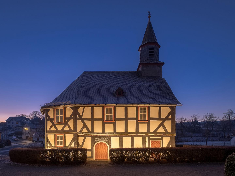 Die Kirche in Sassenhausen