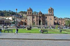 Die Kirche La Compania de Jesus in Cusco