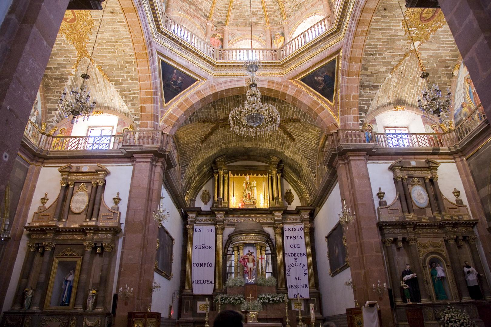 "Die Kirche ""La Parroquia"" in San Miguel Allende"