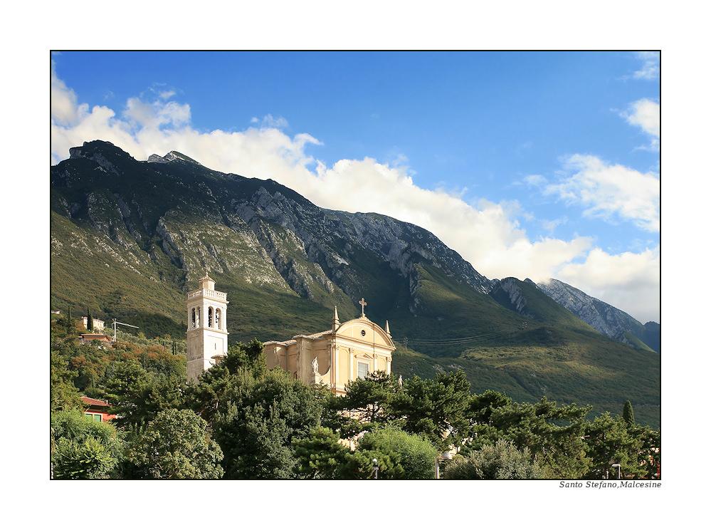 Die Kirche Santo Stefano....