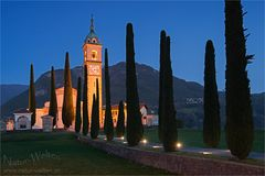 Die Kirche von Collina d'Oro