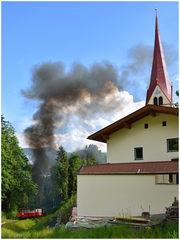 Die Kirche von Eben...
