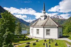 Die Kirche von Geiranger / Norwegen