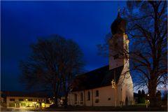 Die Kirche von Grassau