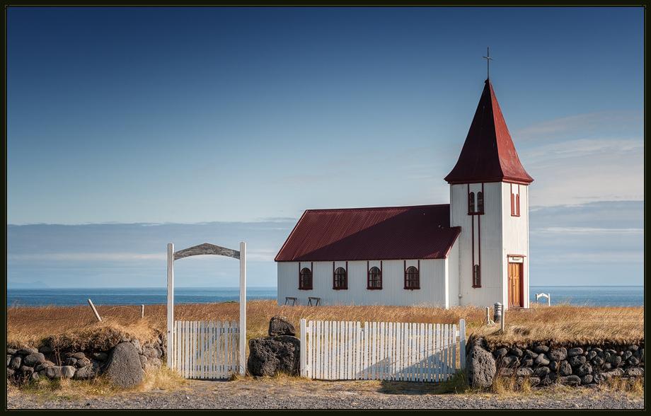 Die Kirche von Hellnar