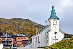 Die Kirche von Honningsvåg