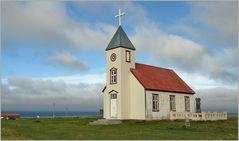 Die Kirche von Sauðanes...