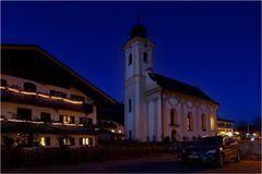 Die Kirche von Schleching