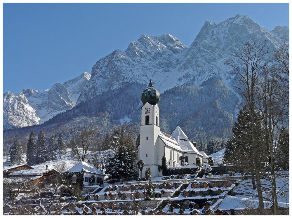 Die Kirche zu Grainau