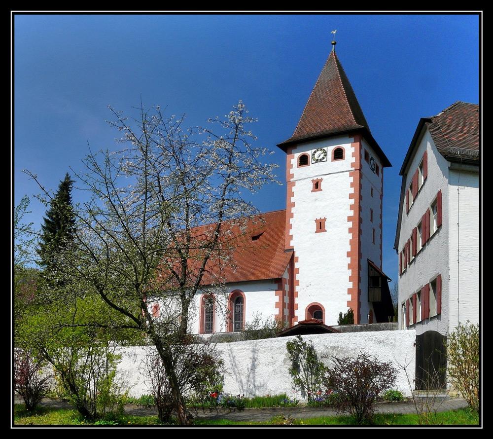 Die Kirche zu Vorra a. d. Pegnitz