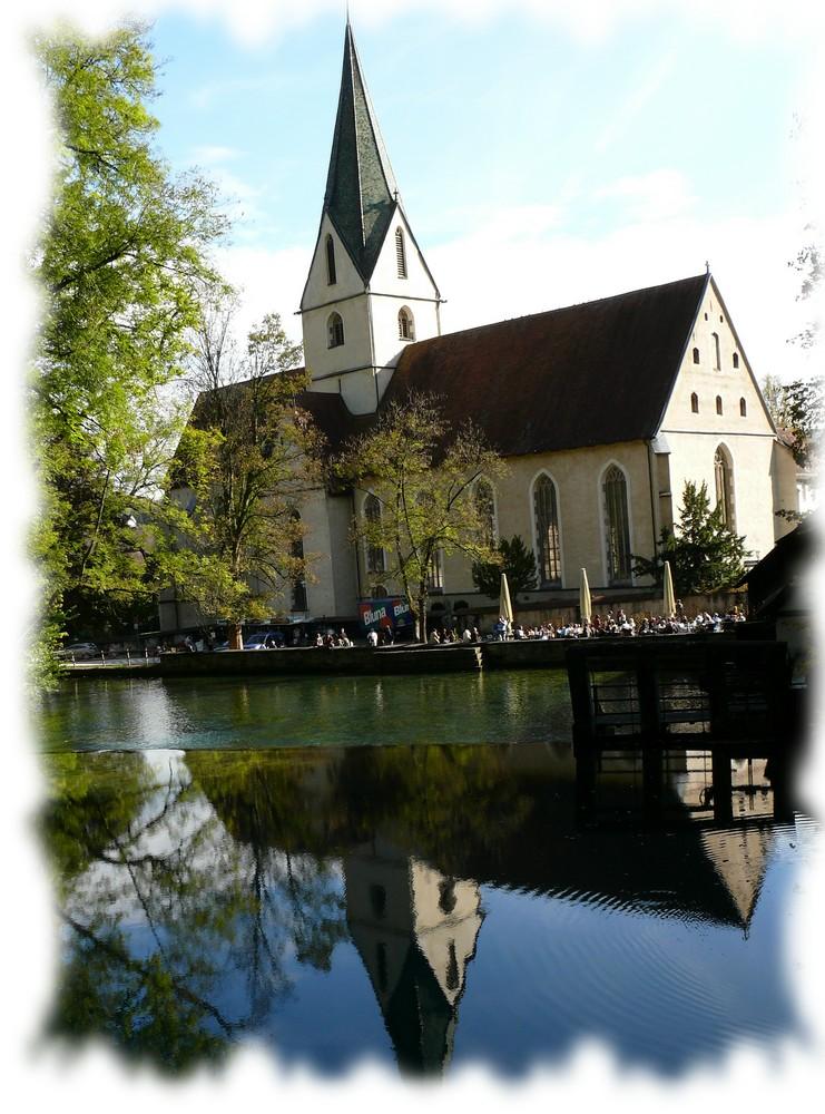 """Die """"Kirchen"""" am Blautopf"""
