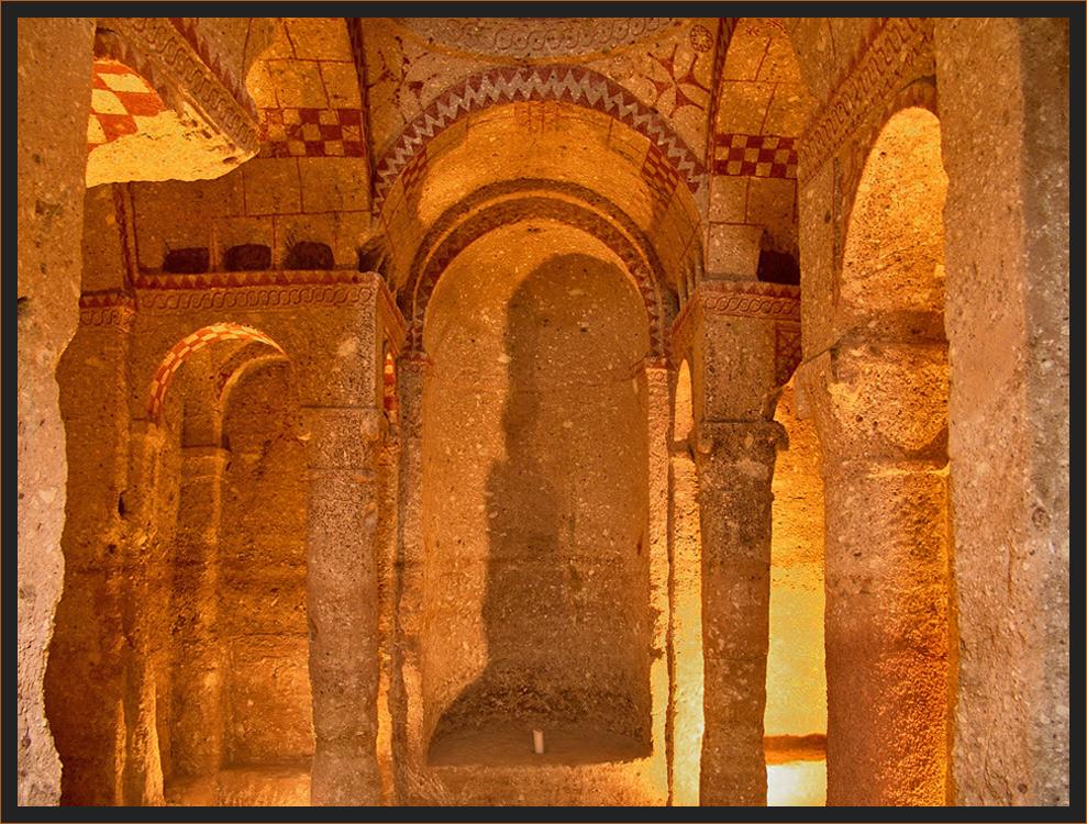 die Kirchen Kappadokiens