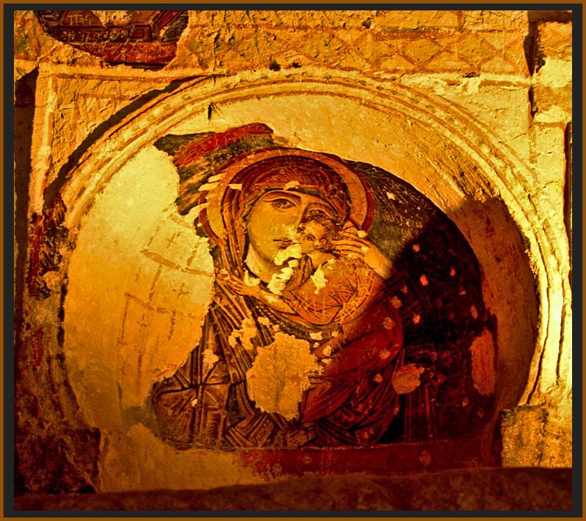 die Kirchen Kappadokiens (Höhlenkirche im Freilichtmuseum Göreme) 5