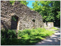 Die Kirchenruine auf dem Katharinenberg