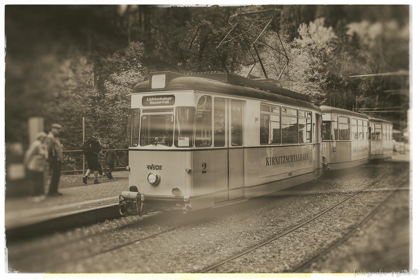 ... die Kirnitzschtalbahn ...