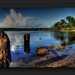 Die kleine Bucht auf Kuba