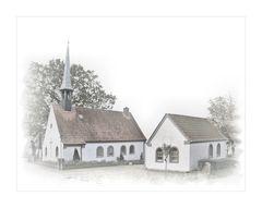 die kleine Dorf - Kirche