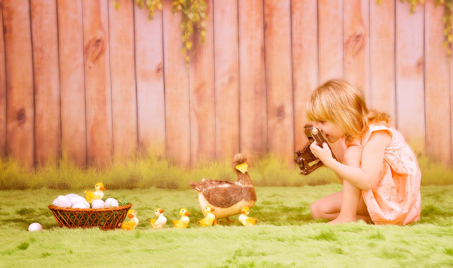 Die kleine Fotografin