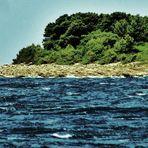 die kleine  Insel