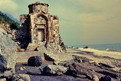 Die kleine Kirche am Strand.    ..DSC_7275