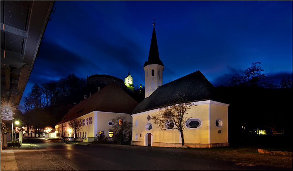 Die kleine Kirche in Aschau