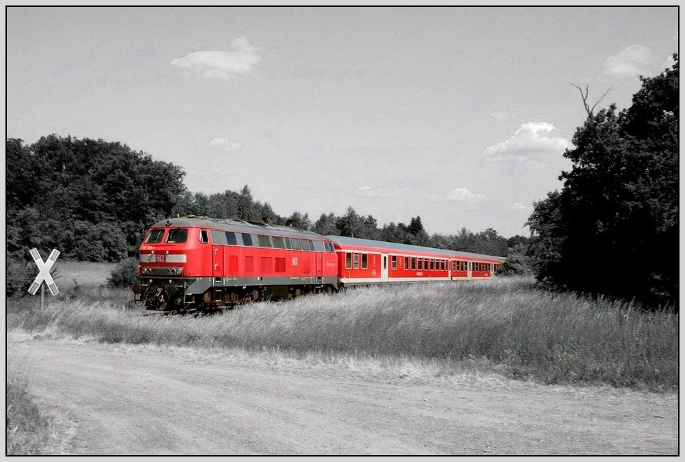 die kleine rote eisenbahn