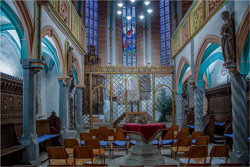 Die kleine Schloßkirche im Mansfelder Schloß