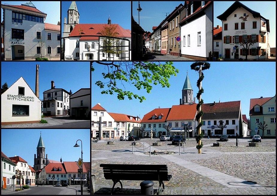 Die kleine Stadt Wittichenau
