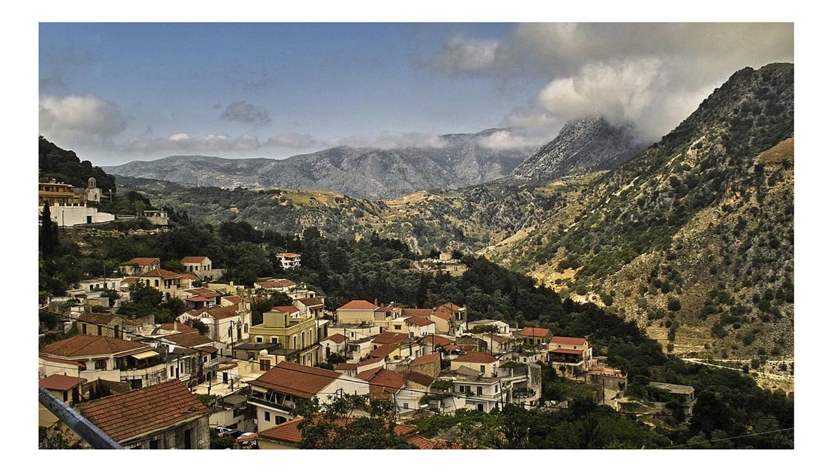 die kleine u. große Welt in den Bergen ....