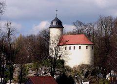 Die kleinste Burg Sachsens