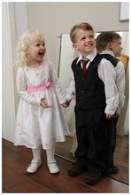 Die kleinsten Hochzeitsgäste...