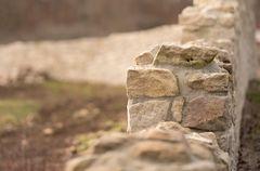 Die klösterliche Mauer