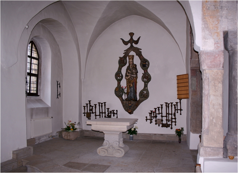 Die Klosterkapelle...