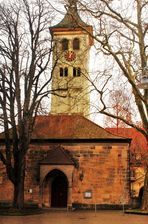 die Klosterkirche in Denkendorf