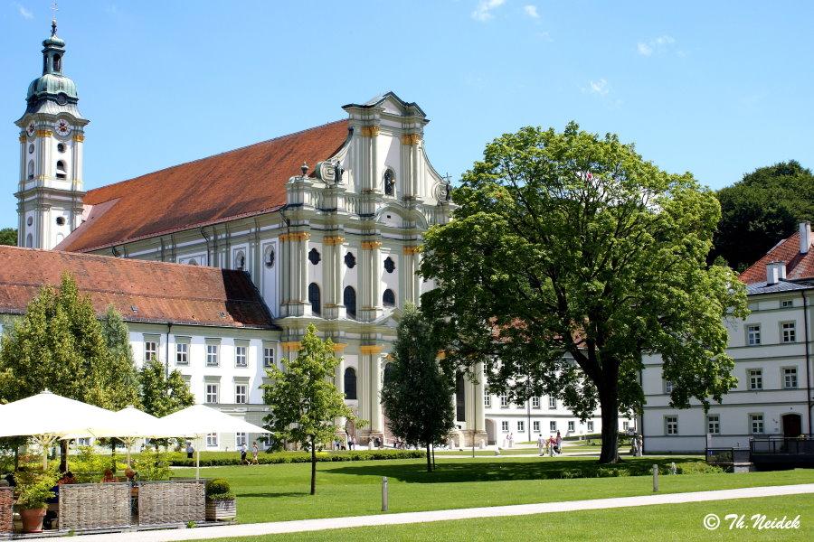 Die Klosterkirche in Fürstenfeld, Fürstenfeldbruck, Bayern