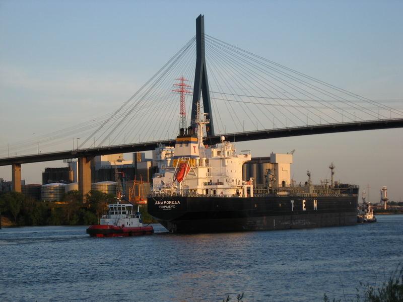 Die Köhlbrandbrücke....