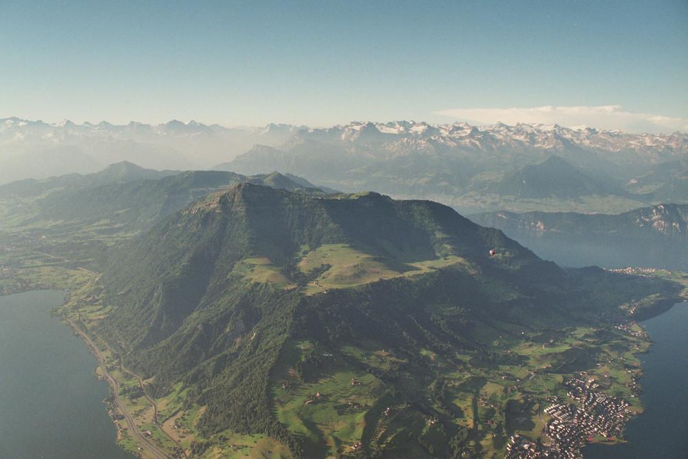 Die Königin der Schweizer Berge - die Rigi