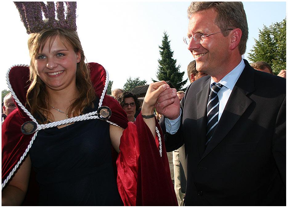 Die Königin und der Ministerpräsident...