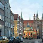 die Königliche Kapelle vor der Marienkirche