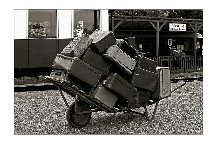 Die Koffer sind gepackt.....