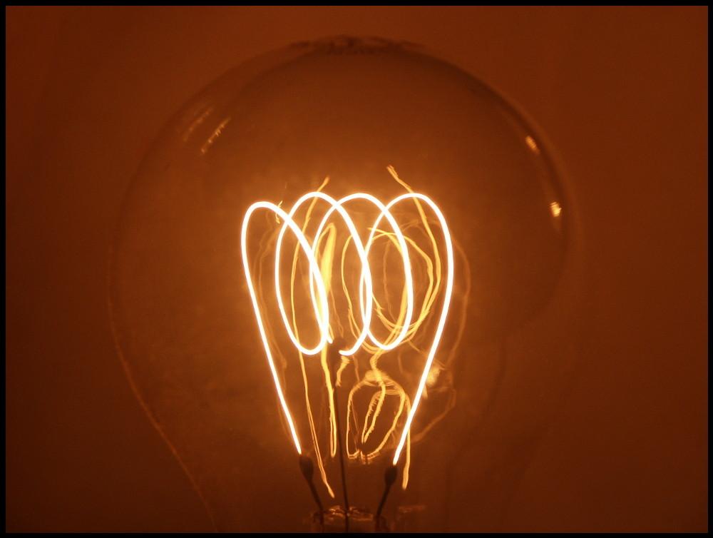die Kohlenfadenlampe