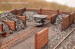 Die Kohlenhandlung  - 1:32 Modell
