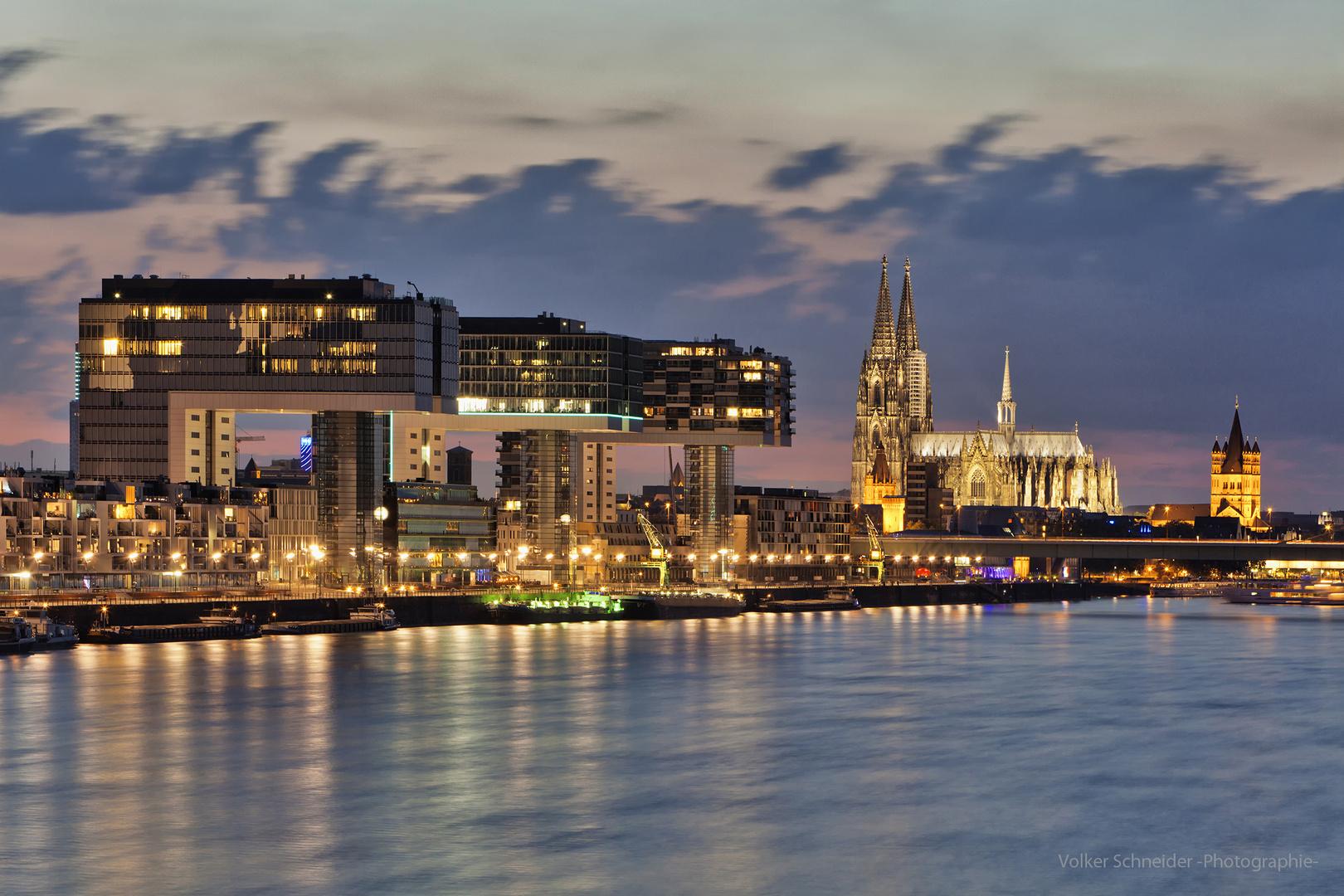 die Kranhäuser von Köln