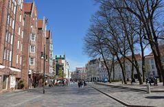 "Die ""Kröpi"" mit Universitätsplatz in Rostock"