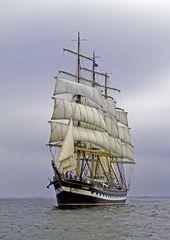Die Krusenstern während der Sail-Regatta