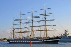 """Die """"Krusenstern"""" zur Hanse Sail 2014 in Warnemünde"""