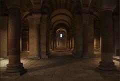 Die Krypta des Doms zu Speyer
