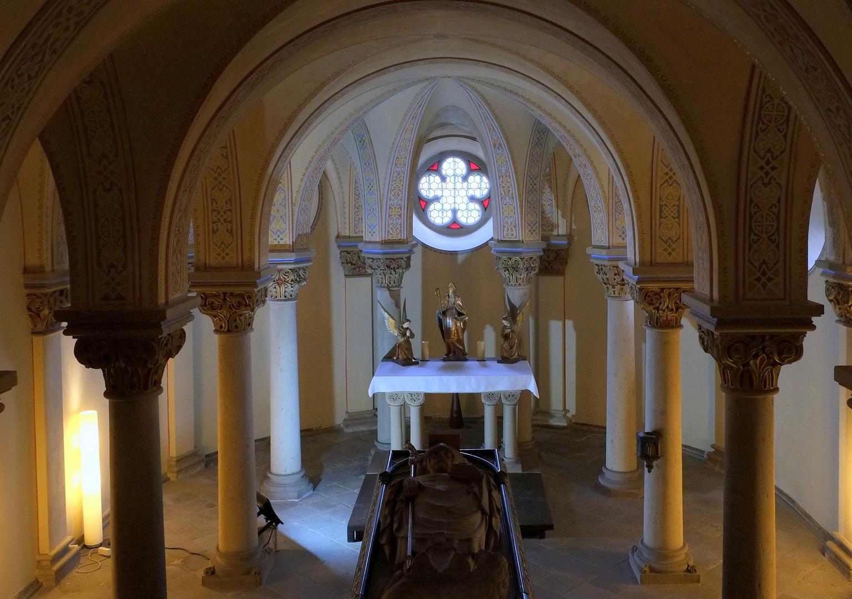 Die Krypta von St. Apollinaris