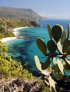 Die Küste am Capo Vaticano nahe Tropea