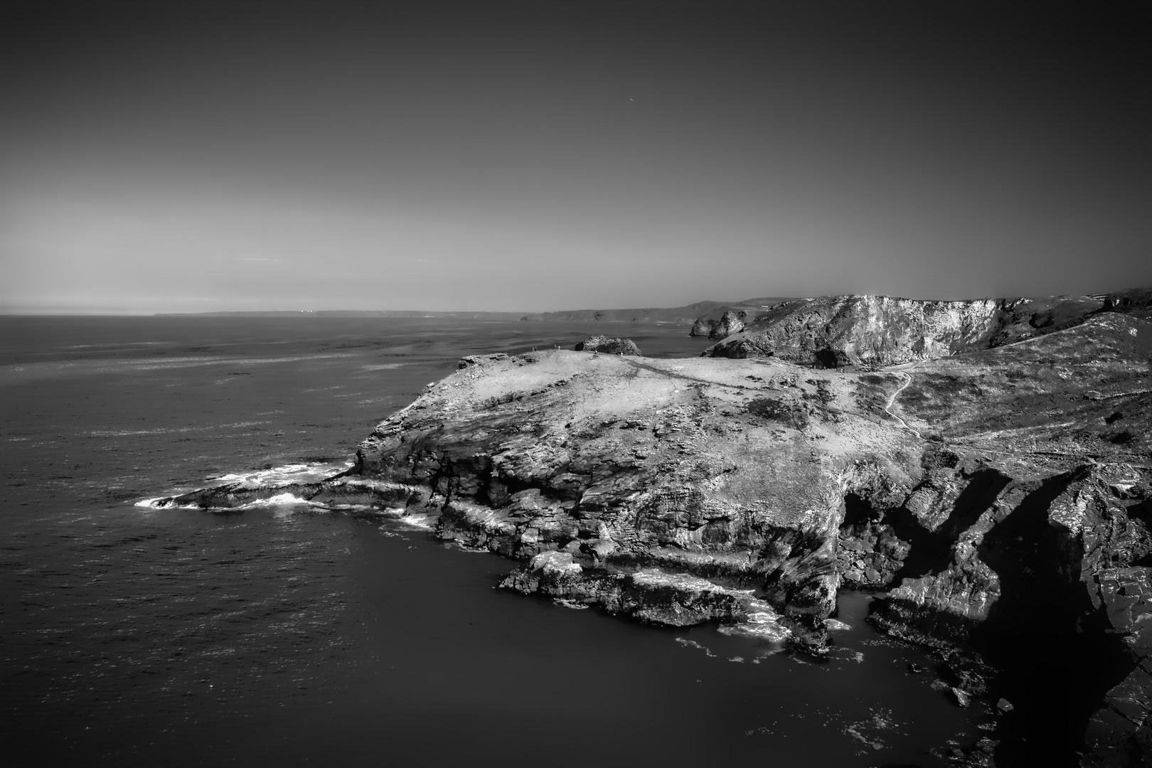 Die Küste von Tintagel